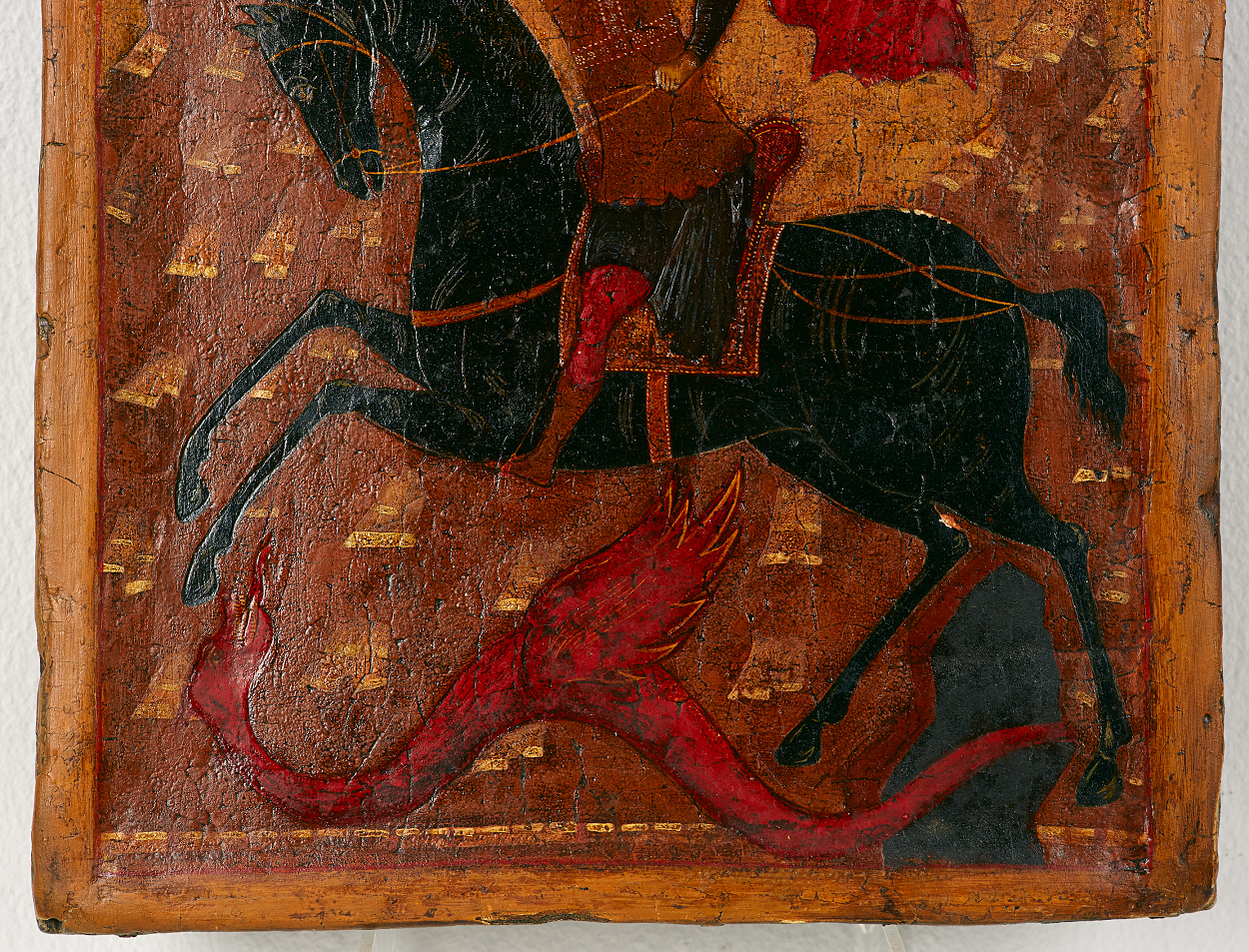 A Russian icon, The Miracle of St George