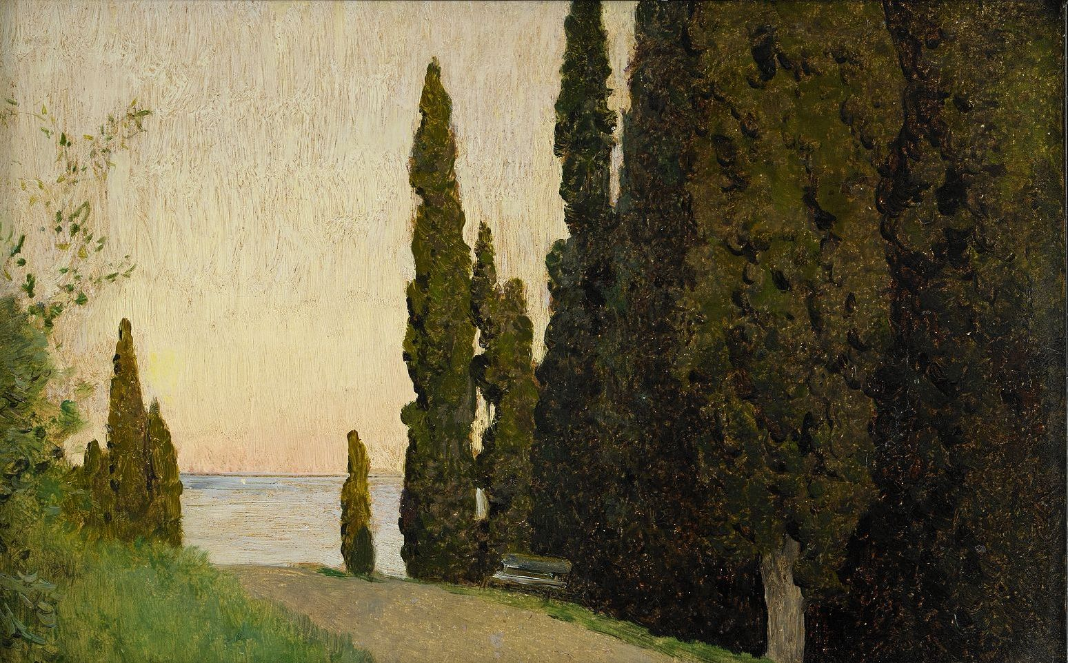 Isaac Ilitch Levitan, Crimea; Cypress Avenue
