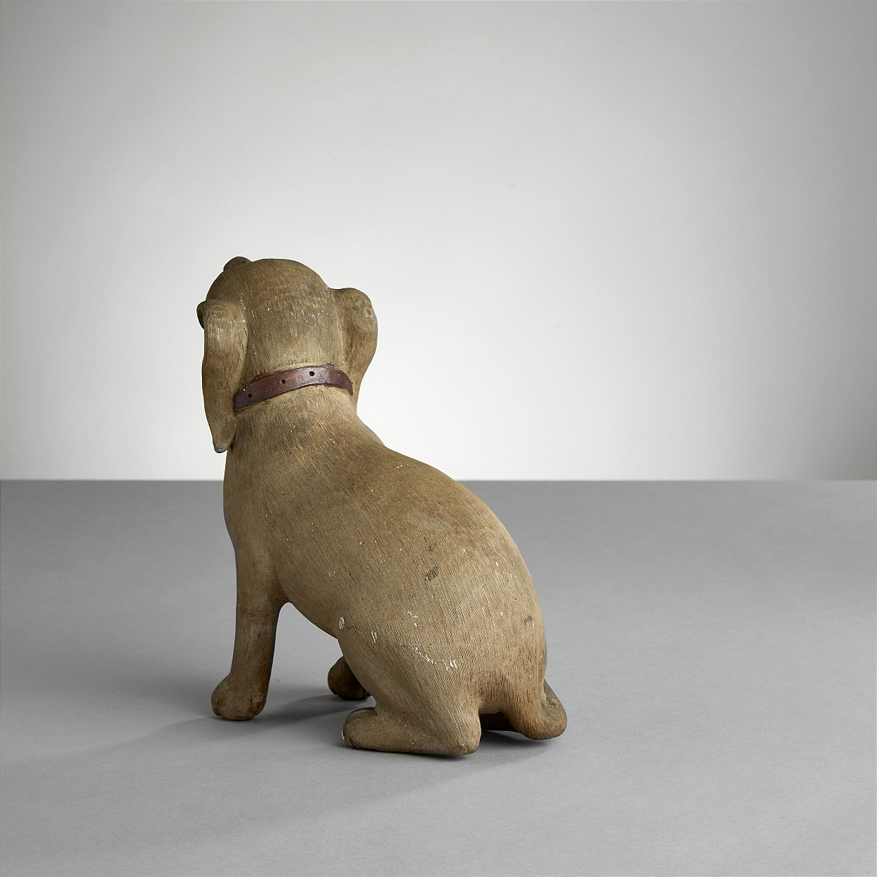 A Chinese Export Figure of a Puppy