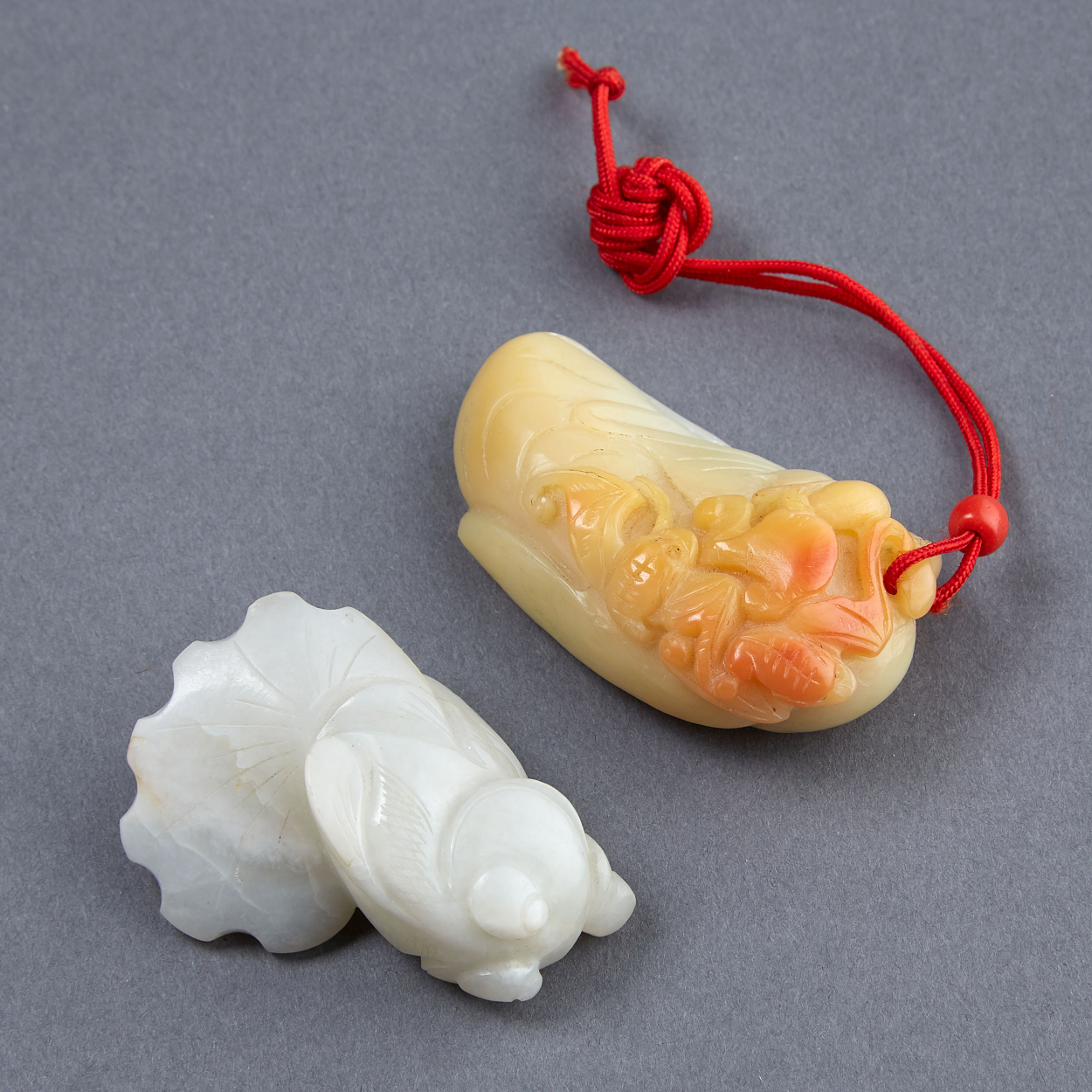Two Jade Pendants