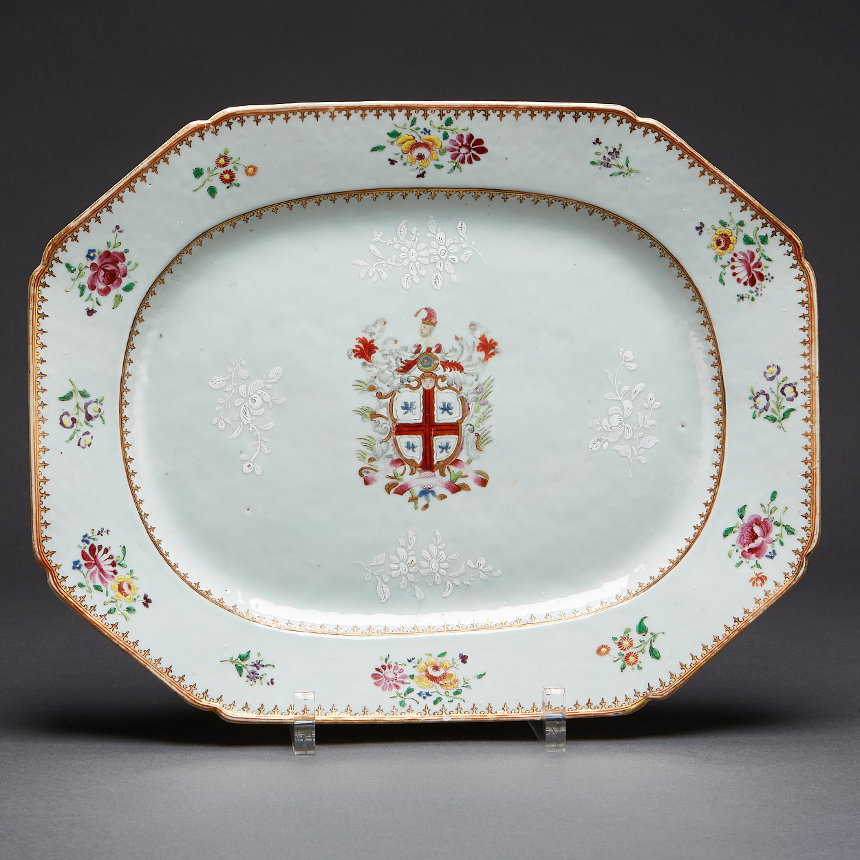An Armorial Bourchier Dish