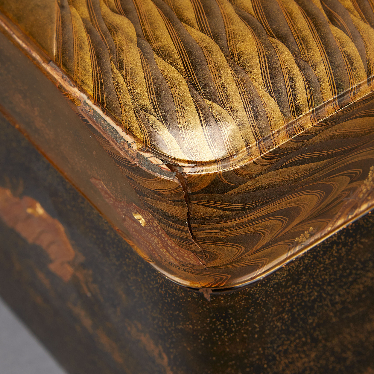 A Lacquered 'Ryoshibako' Box for Documents