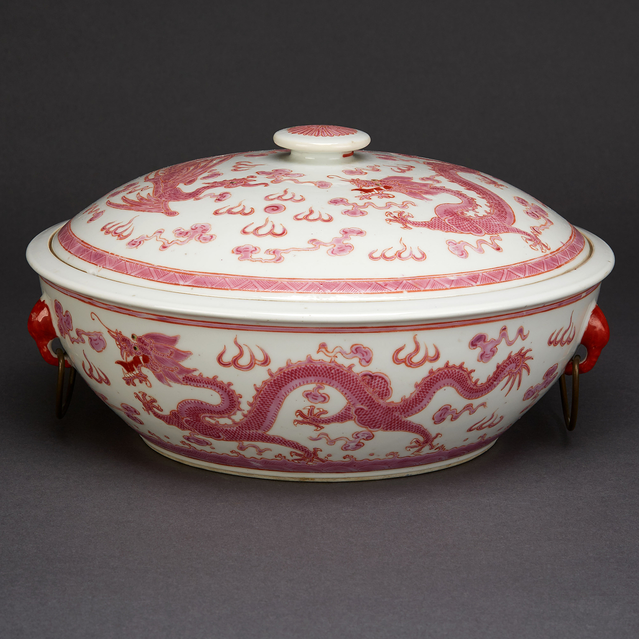 A Famille Rose Tureen with Cover