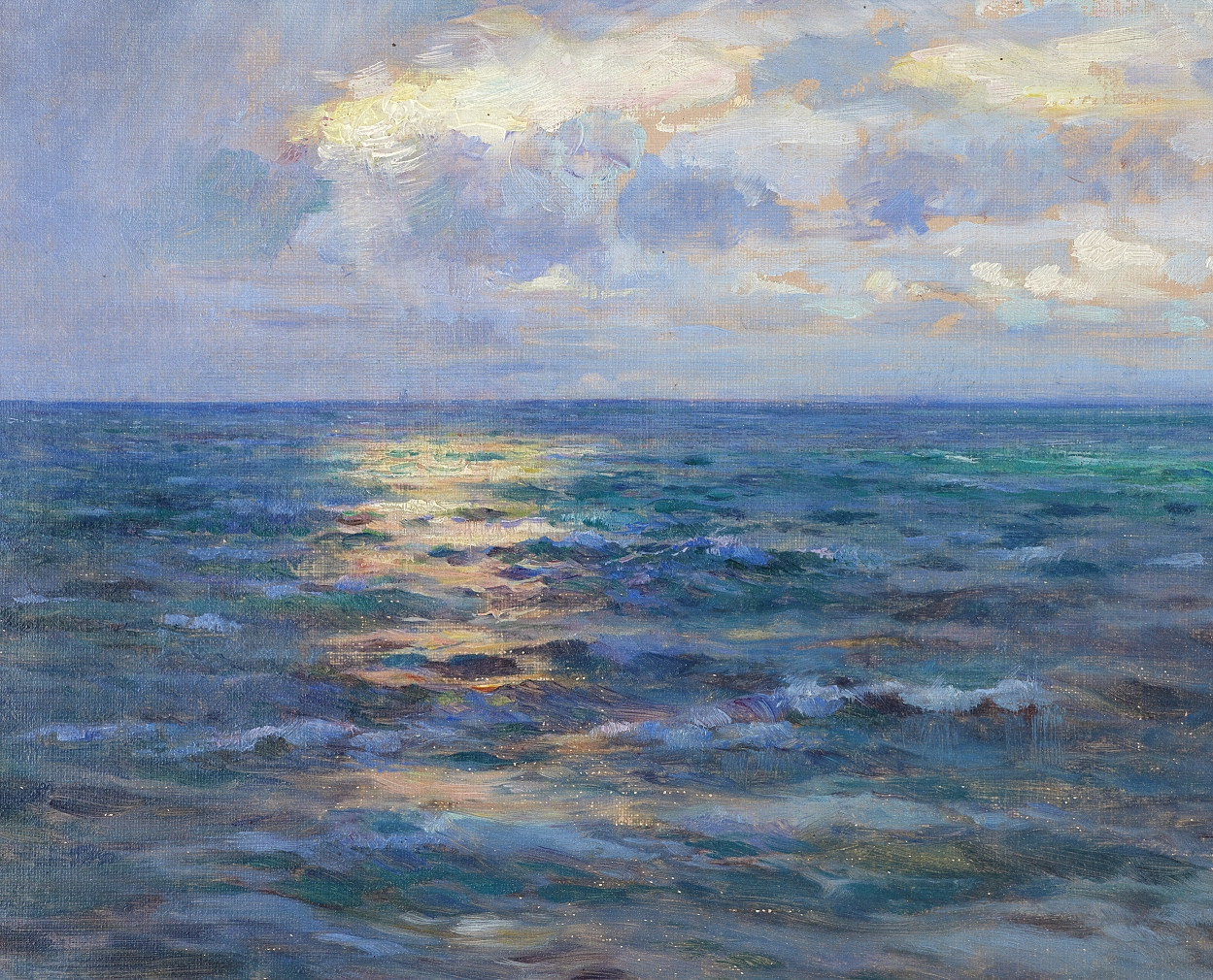 William Blair Bruce, Evening on the Baltic