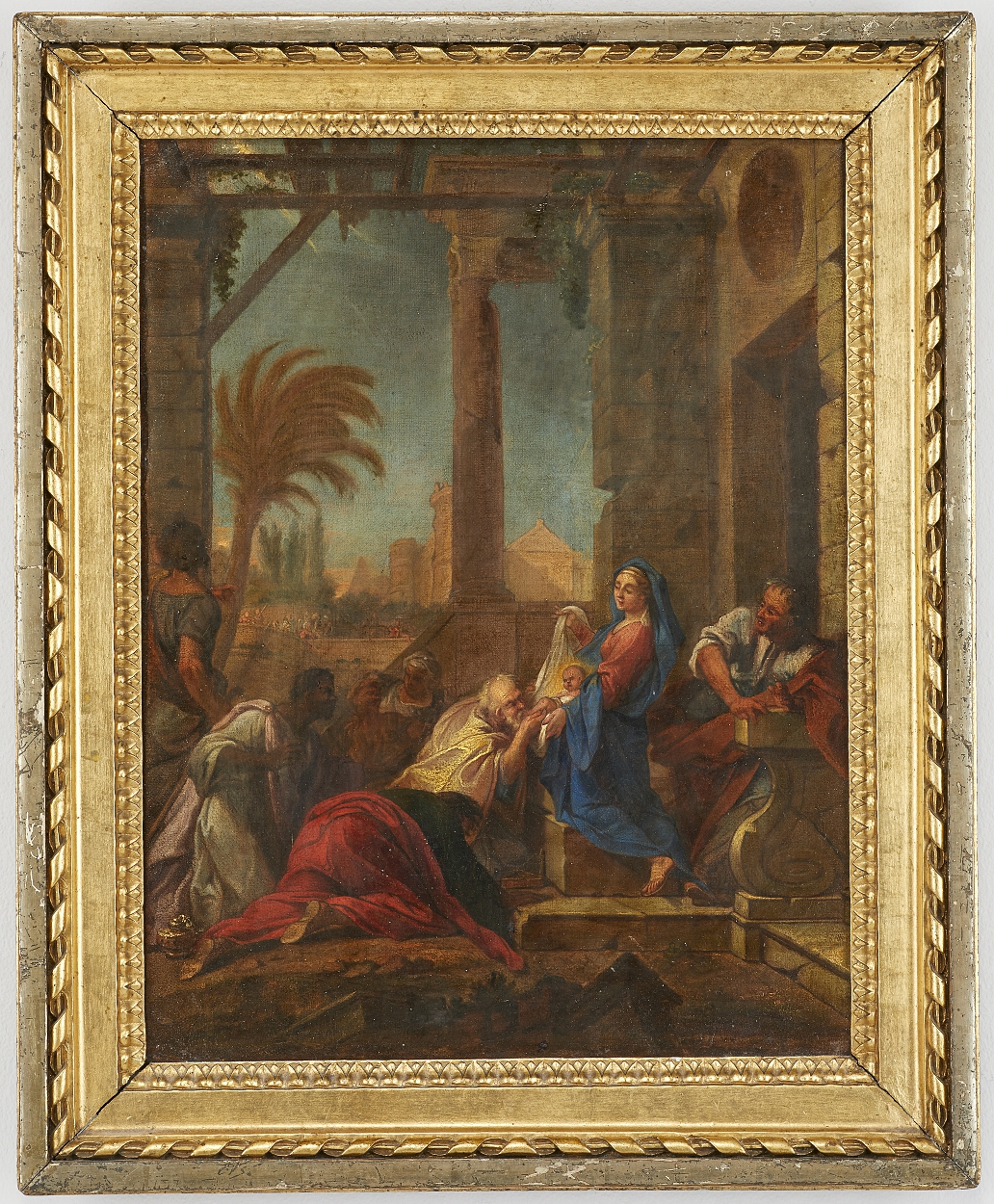 circle of Louis de Boullogne, The Adoration of the