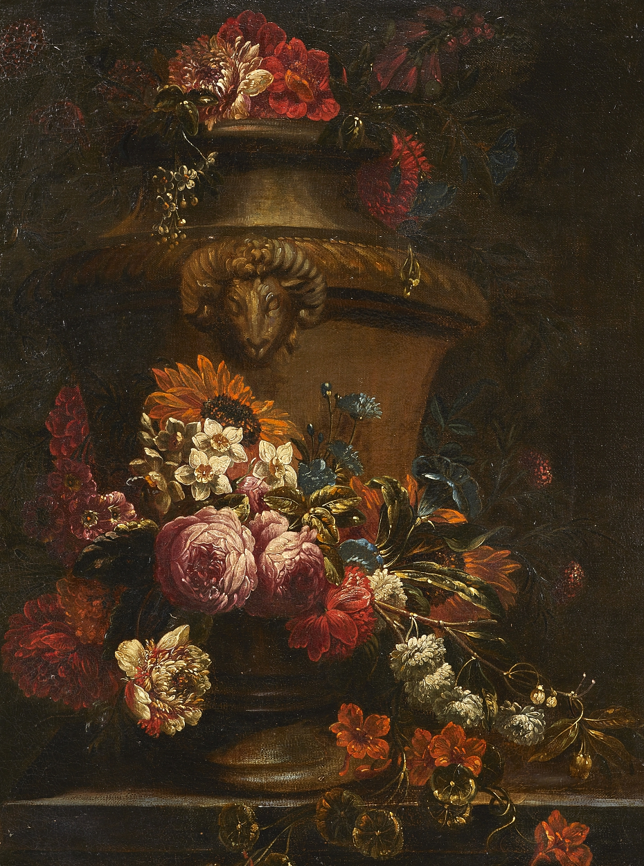 attributed to Pieter Casteels III, Still life