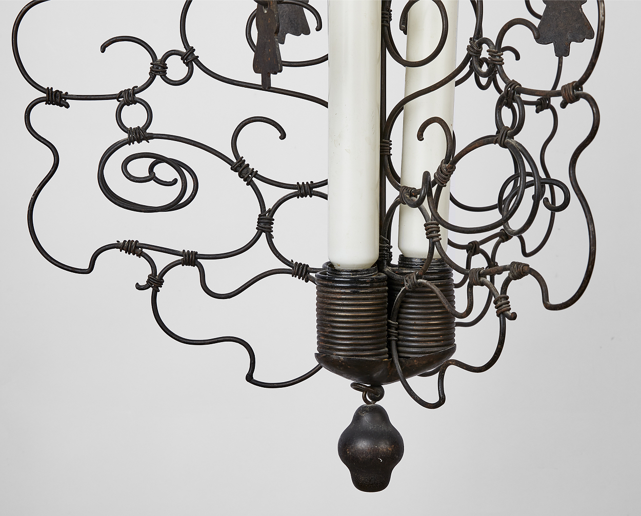 A ceiling lamp attributed to Carl Bergsten