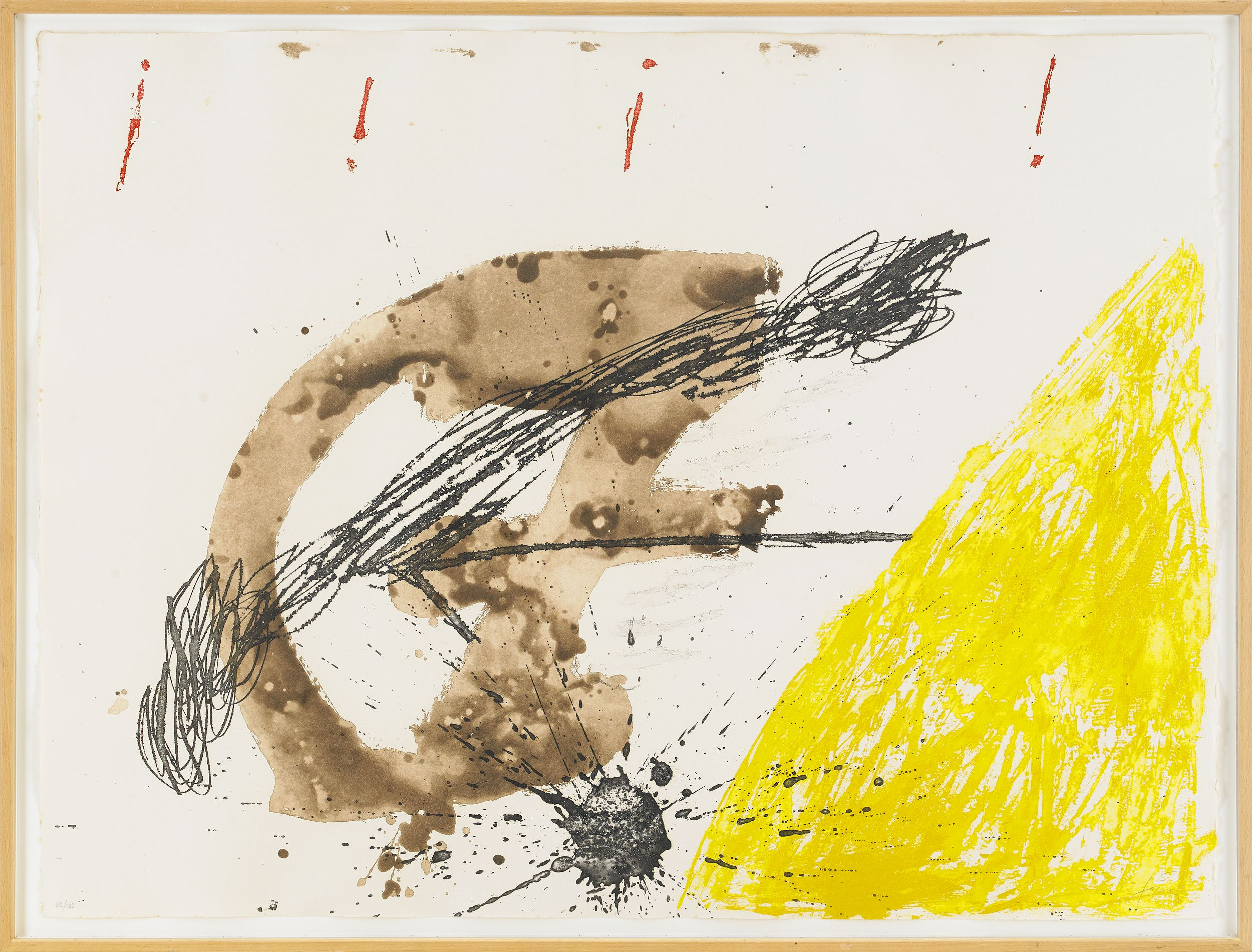 Antoni Tapies, Untitled