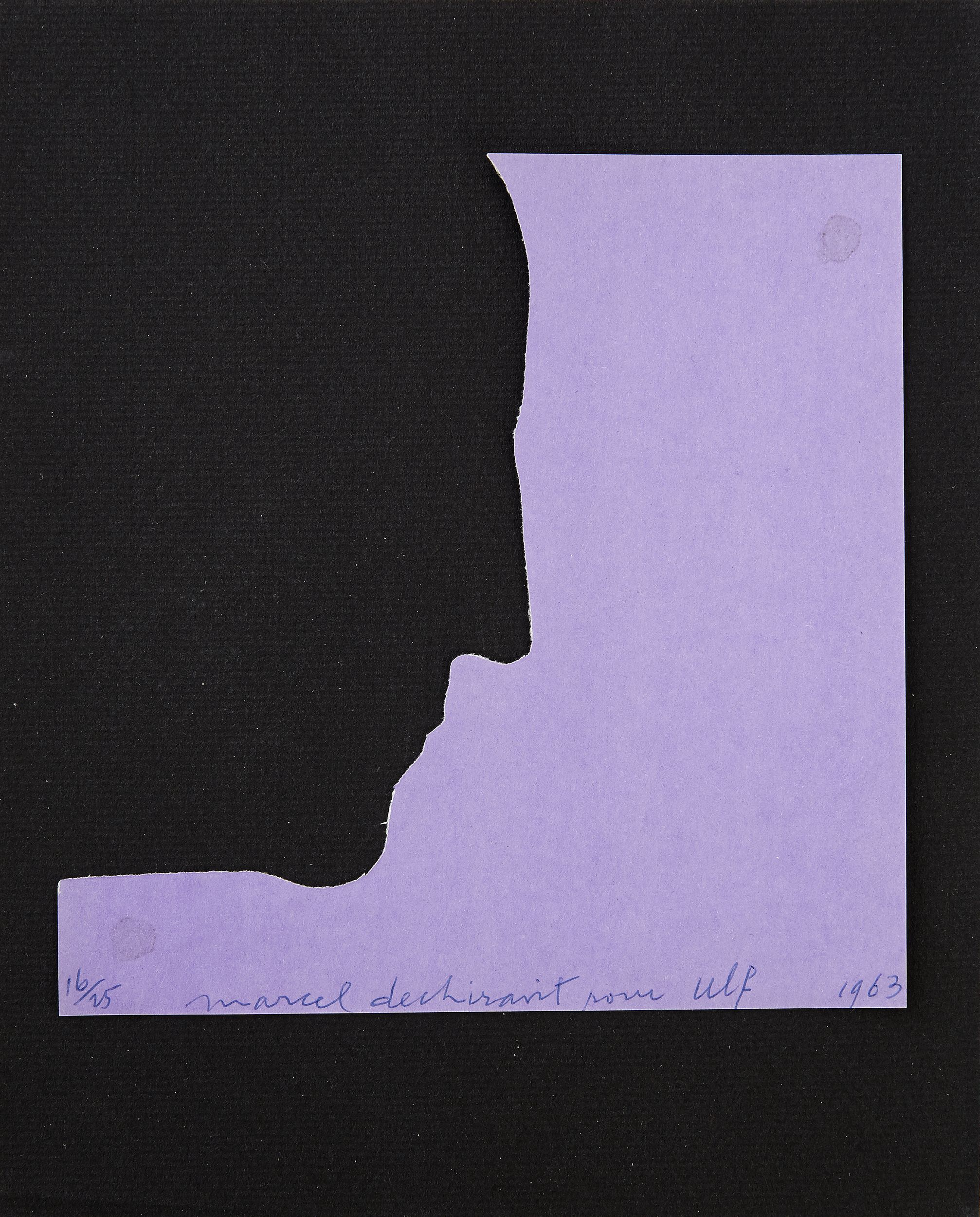 Marcel Duchamp, Self-Portrait in Profile