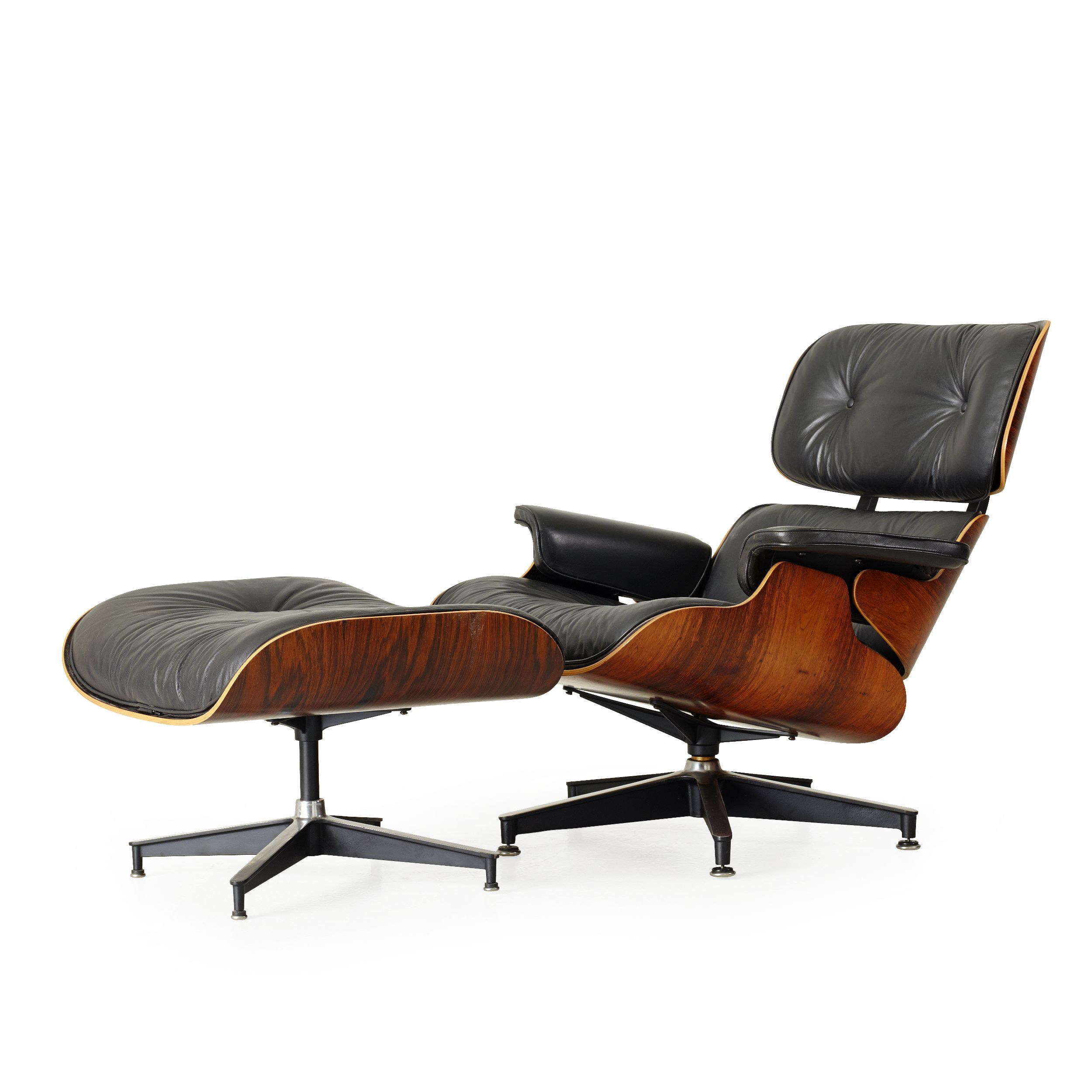 """Charles & Ray Eames, """"Lounge chair and Ottoman"""""""