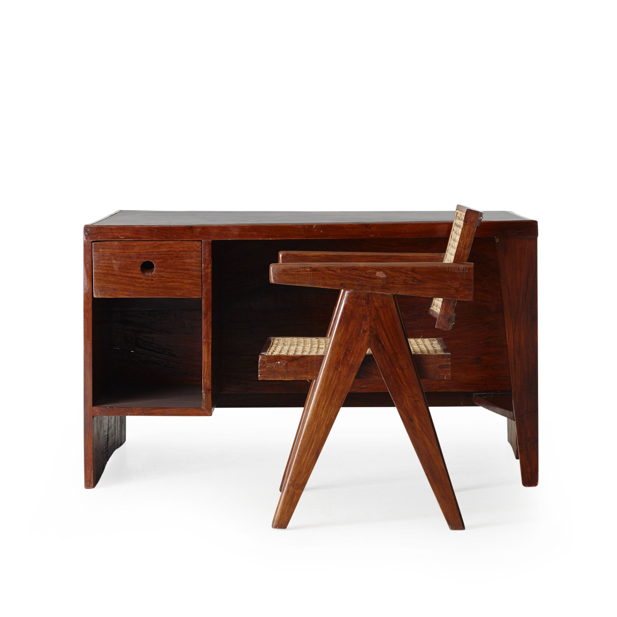 Pierre Jeanneret, Pigeonhole desk and Office chair