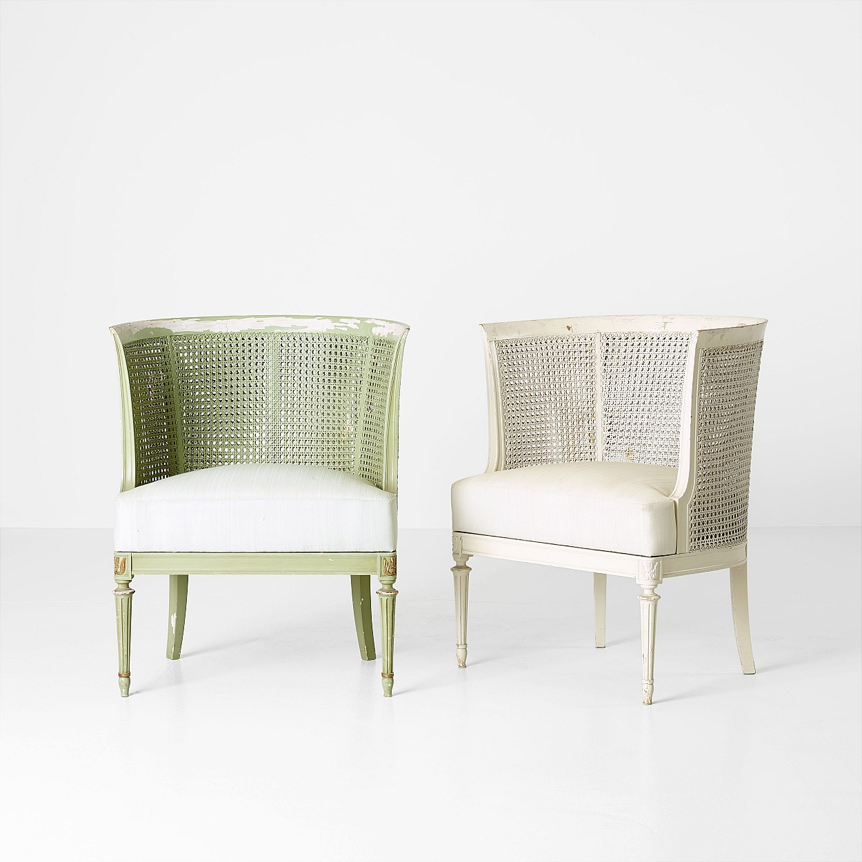 Carl Malmsten, a set of two armchairs, 1920's
