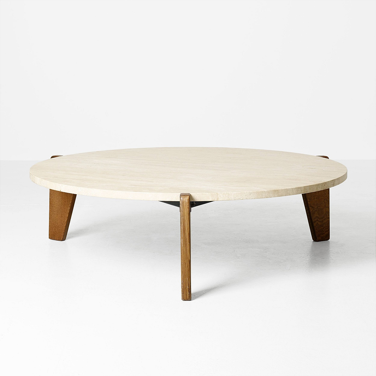 "Jean Prouvé ""Gueridon Bas"" occasional table"