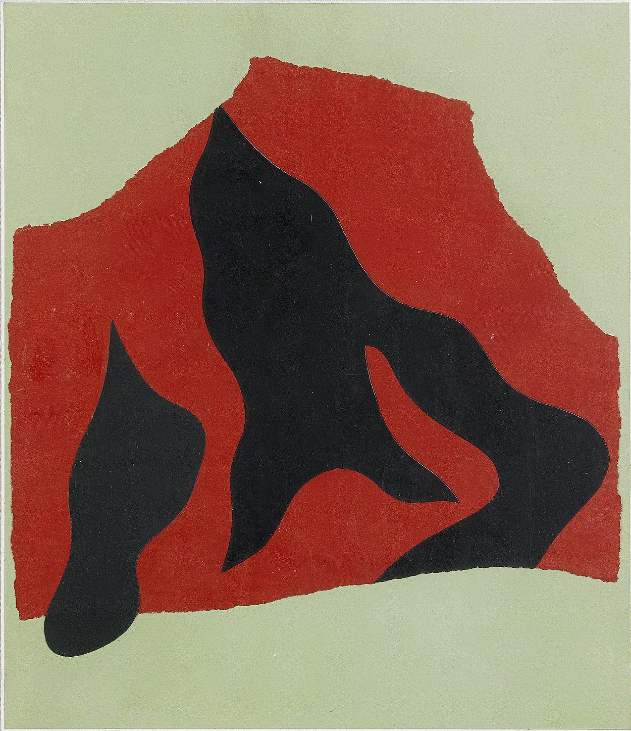 Jean Arp, Collage