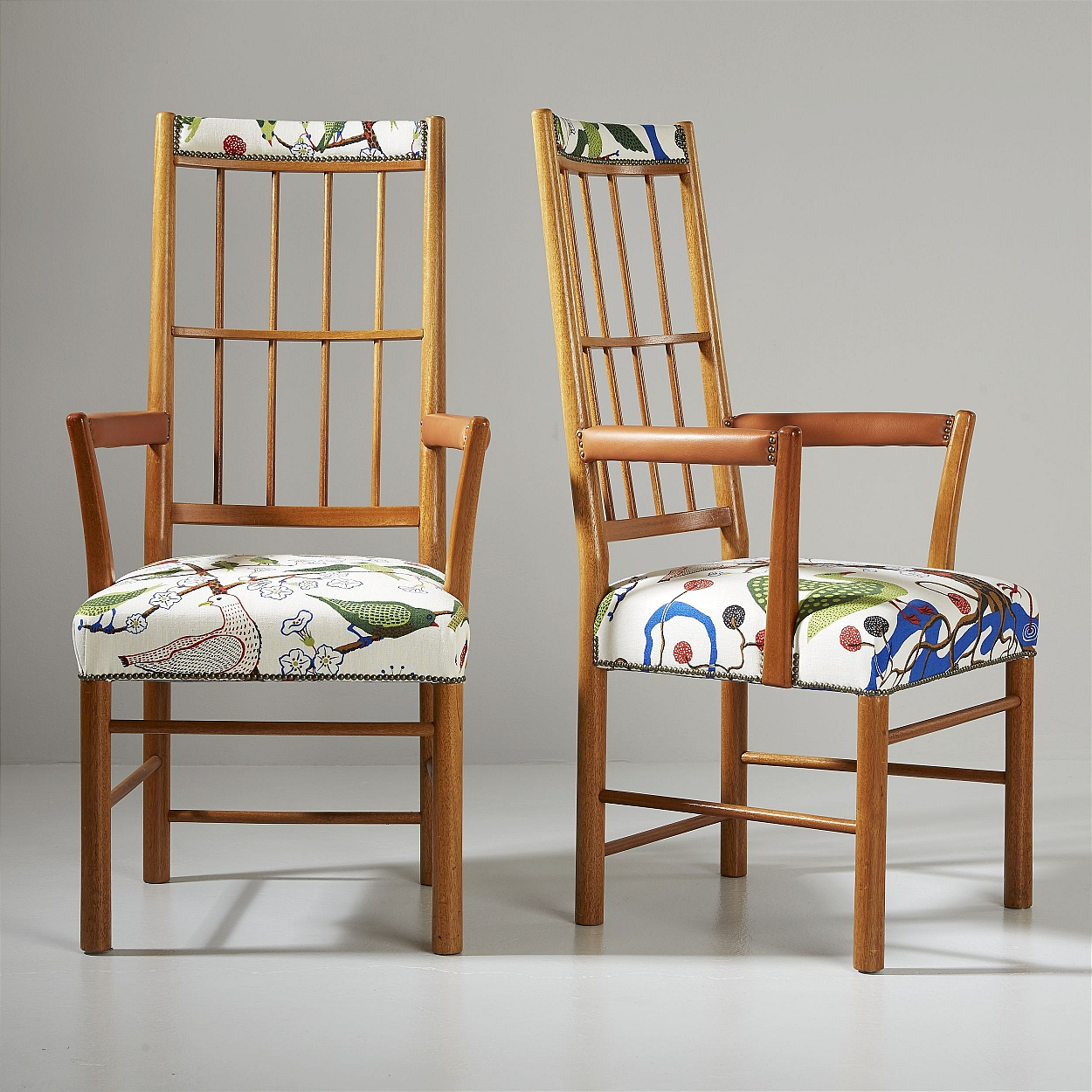 Josef Frank, a pair of armchairs for Svenskt Tenn