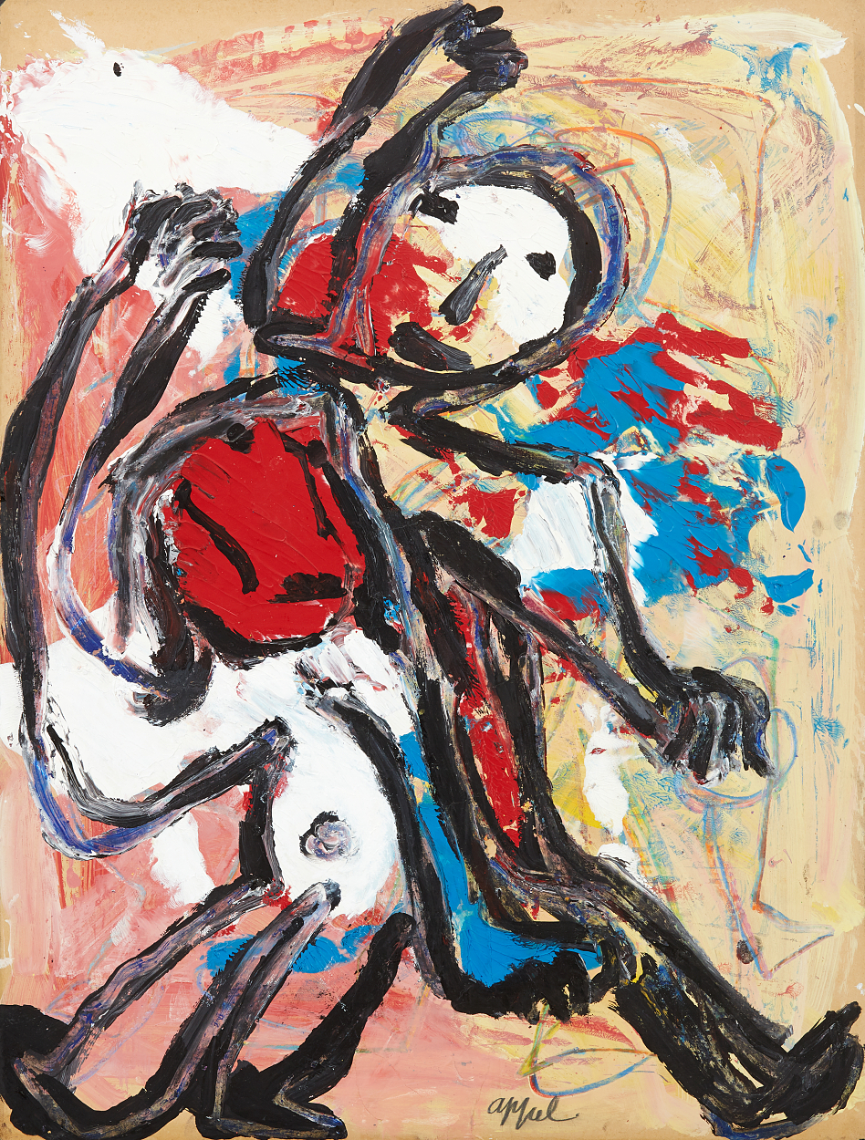 Karel Appel, Komposition med figurer