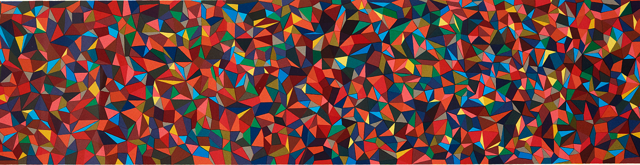 Sol Lewitt, Continous forms and colors