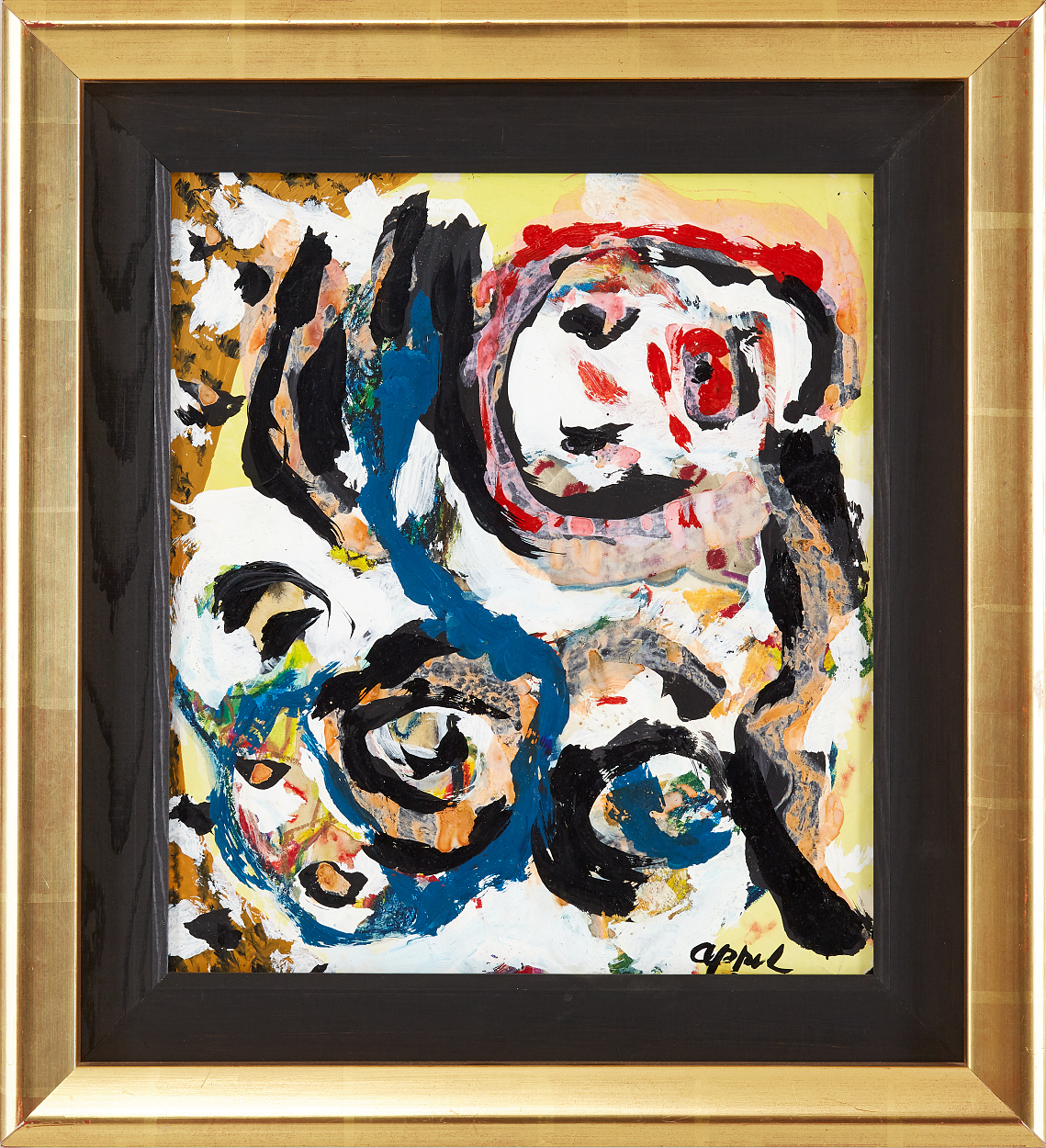 Karel Appel, Figurkomposition