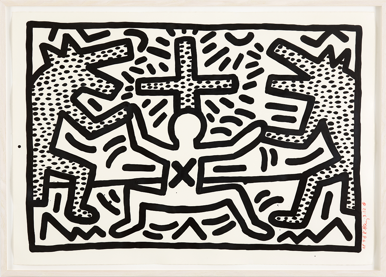 Keith Haring, Untitled II