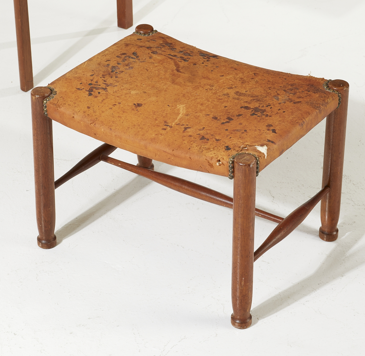 A Josef Frank dressing table and a stool