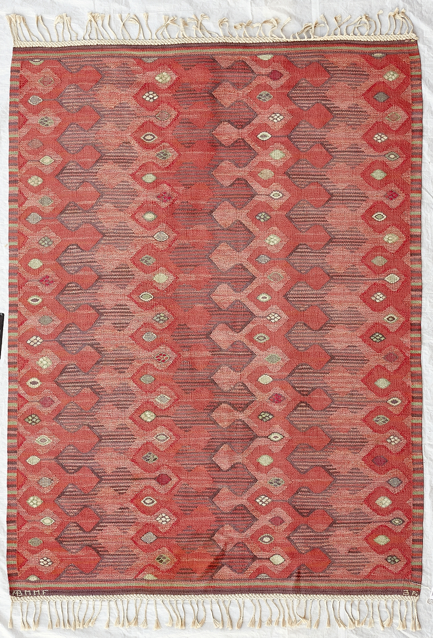 "A Barbro Nilsson carpet ""Kringelikroka"" for MMF AB"