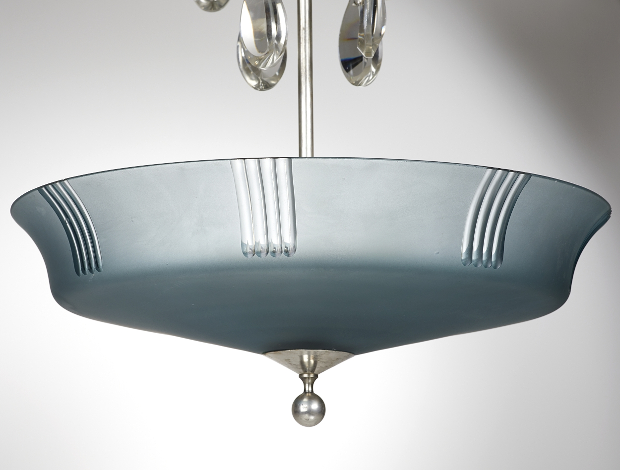 A ceiling lamp attributed to Elis Bergh, 1920´s