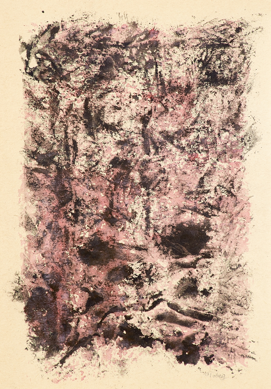 Mark Tobey, Abstrakt komposition