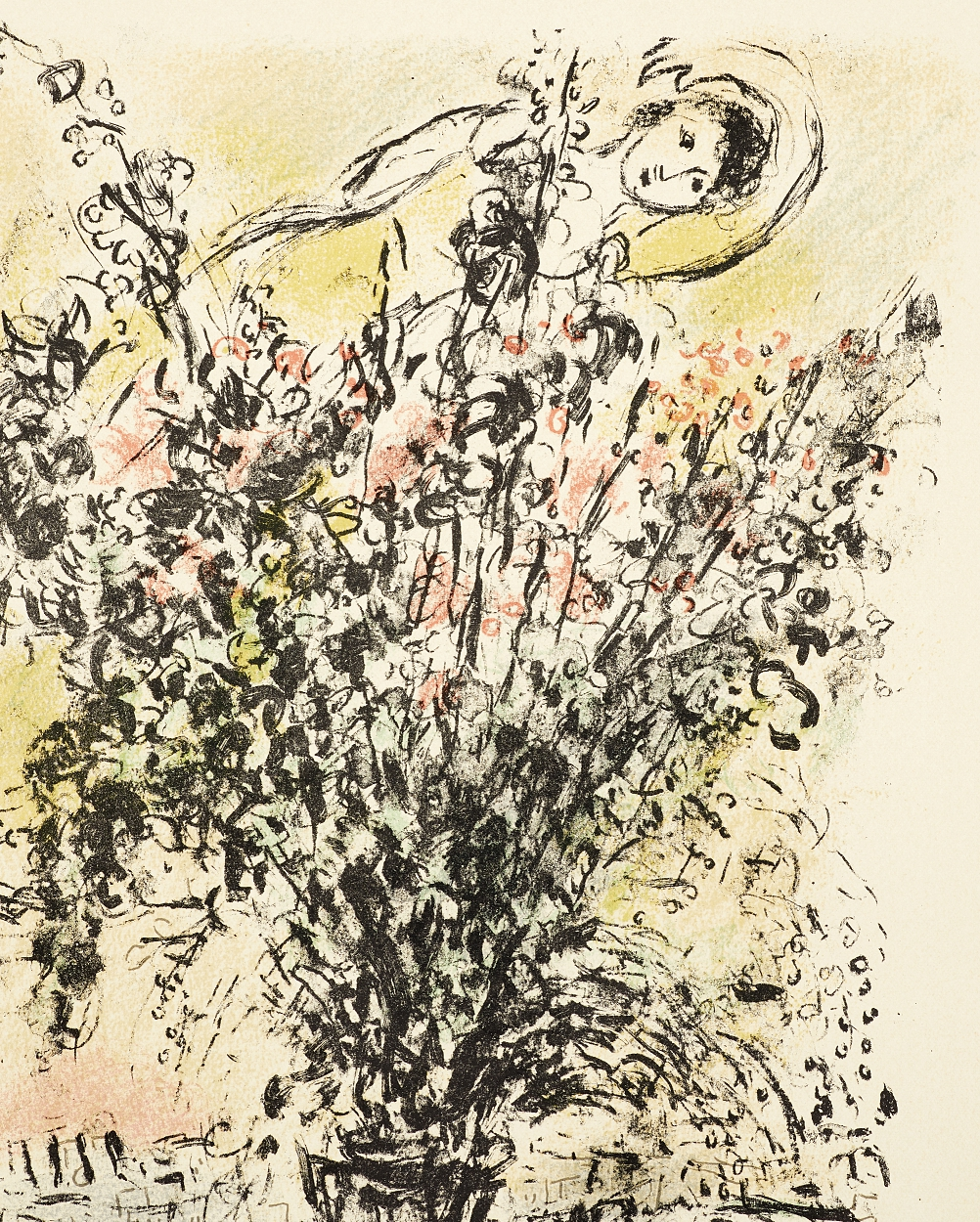Marc Chagall, Le Bouquet de Paris