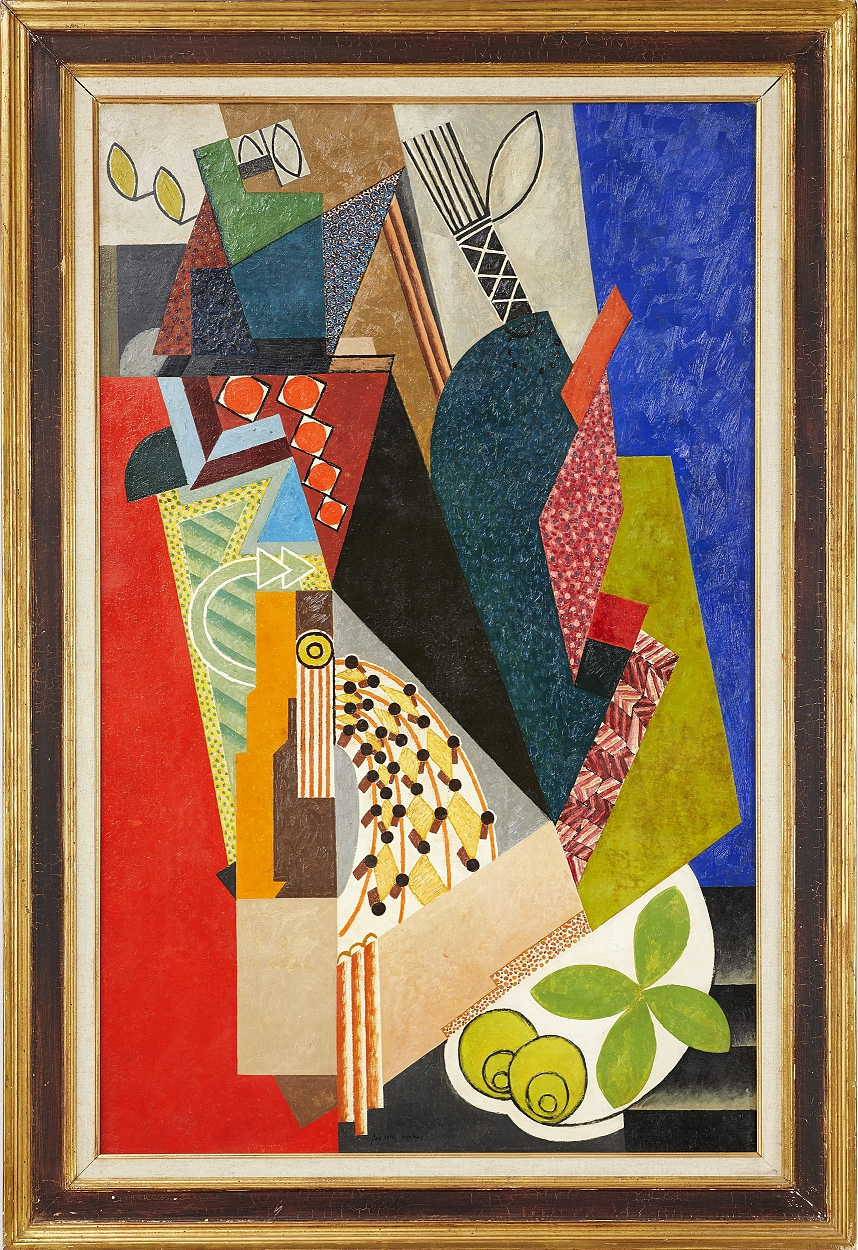 Auguste Herbin, Composition