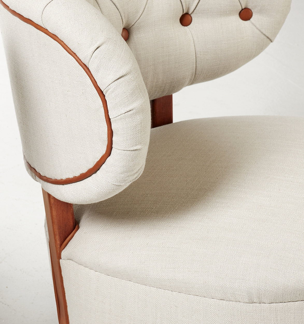A pair of Otto Schulz easy chairs, Boet