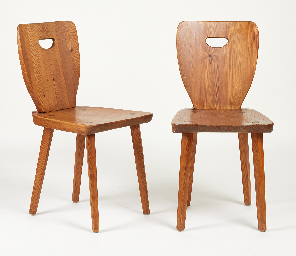 A Carl Malmsten table and 5 chairs