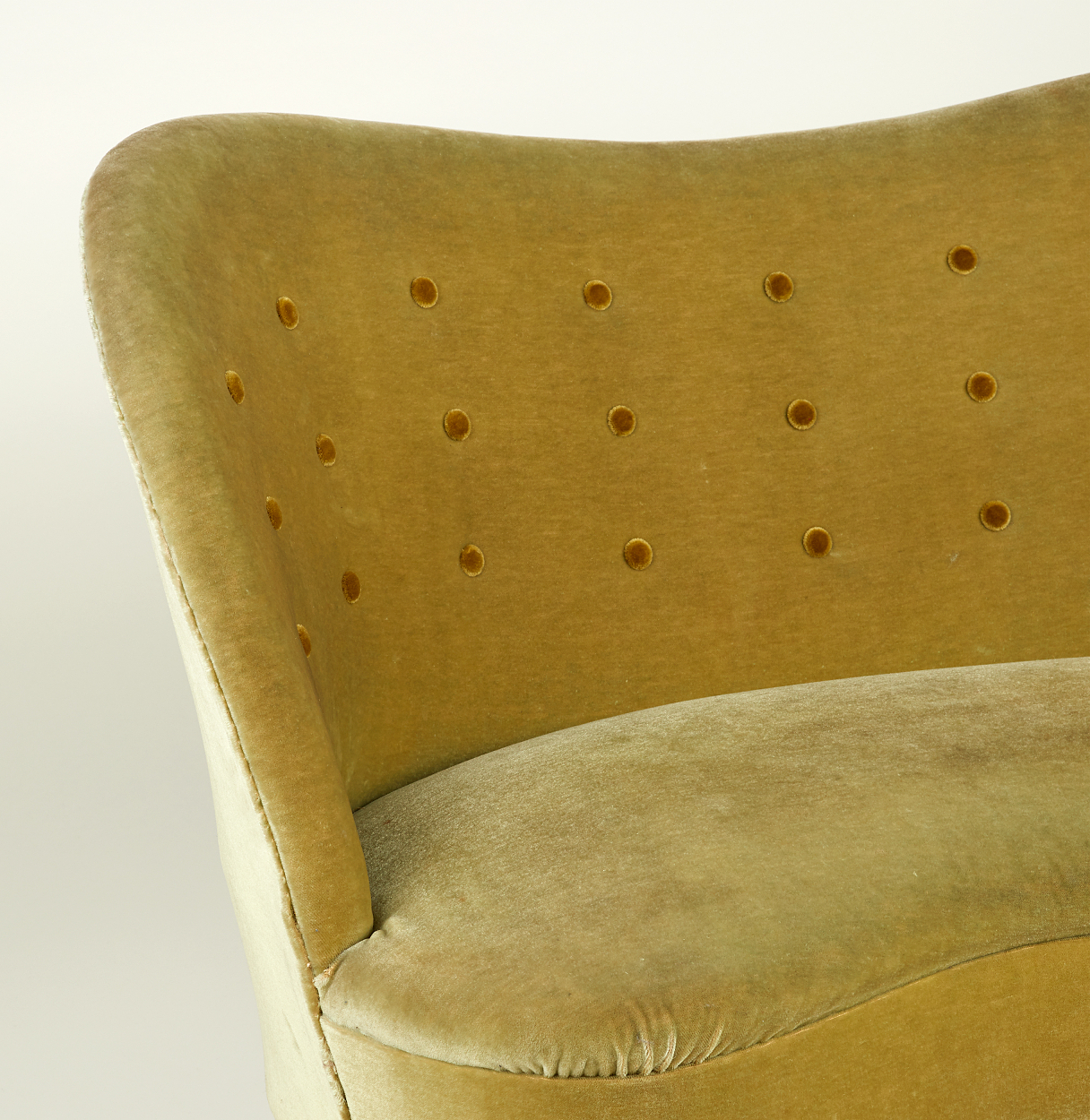 A sofa attributed to Tor Wolfenstein, Ditzingers
