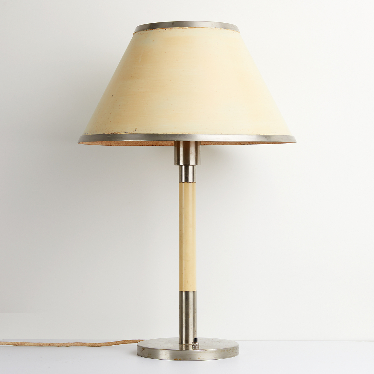A 1940´s Böhlmarks table lamp, Stockholm