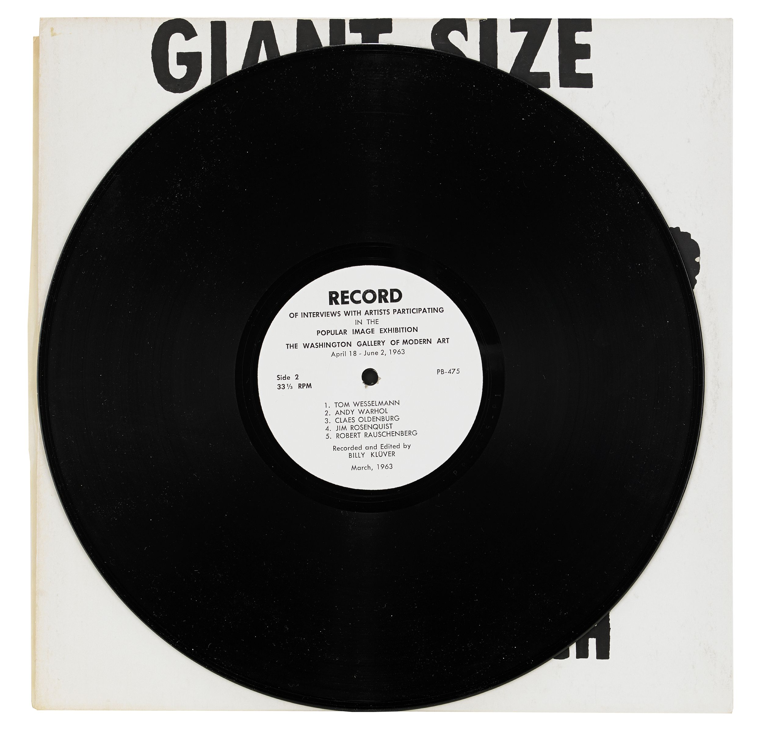 Andy Warhol, Giant Size $ 1.57