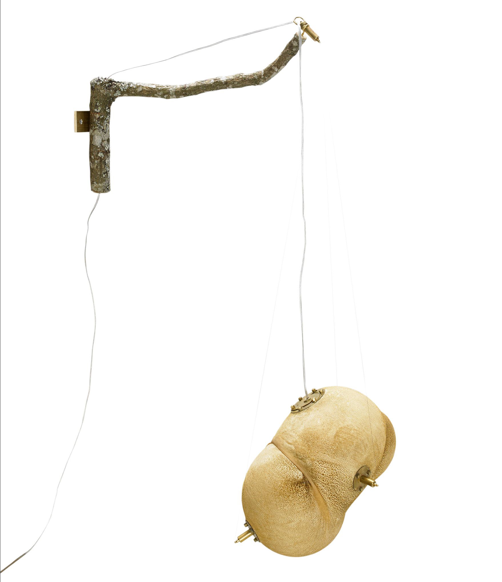 """Veryverygold, """"Hungry Hungry Lamp"""", lampa, 2012"""