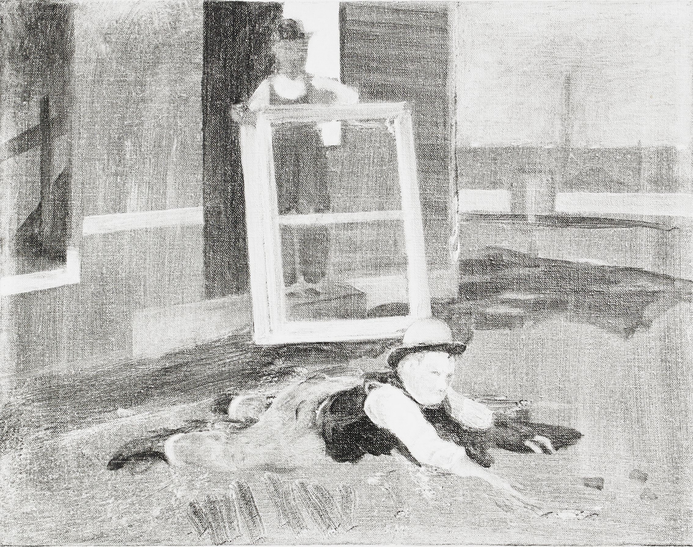 Cecilia Edefalk, Untitled (Sketches for a painting