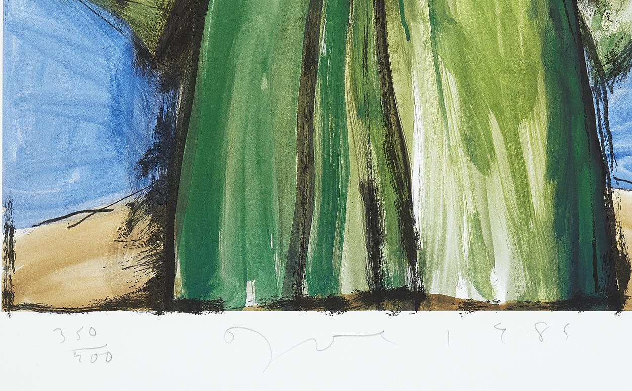 Jim Dine, The mighty robe I
