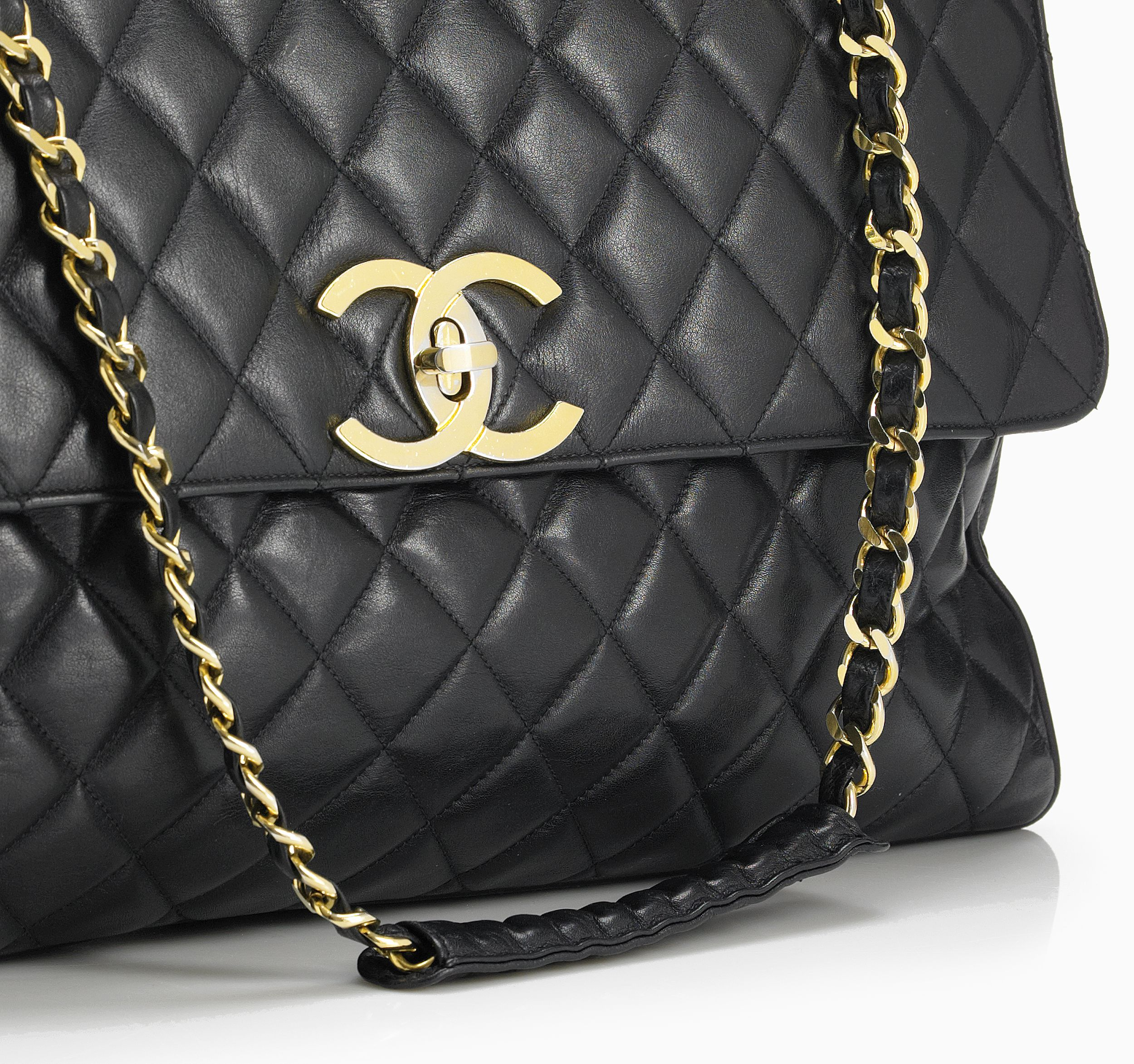 "Chanel, Paris, axelbandsväska ""Flap bag 2.55"""