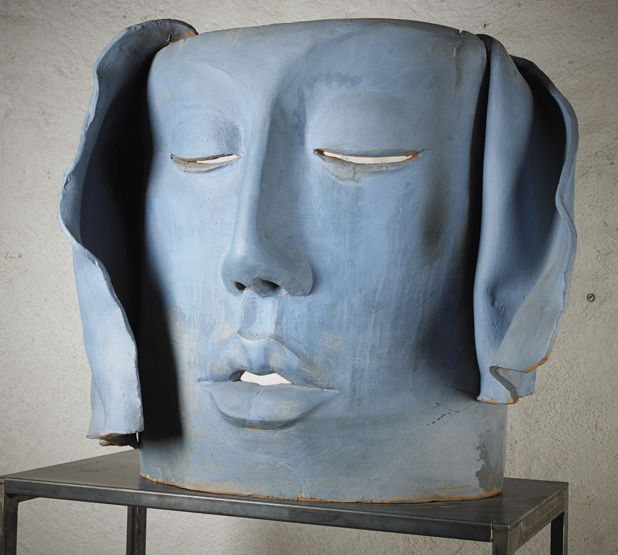Hertha Hillfon, mask