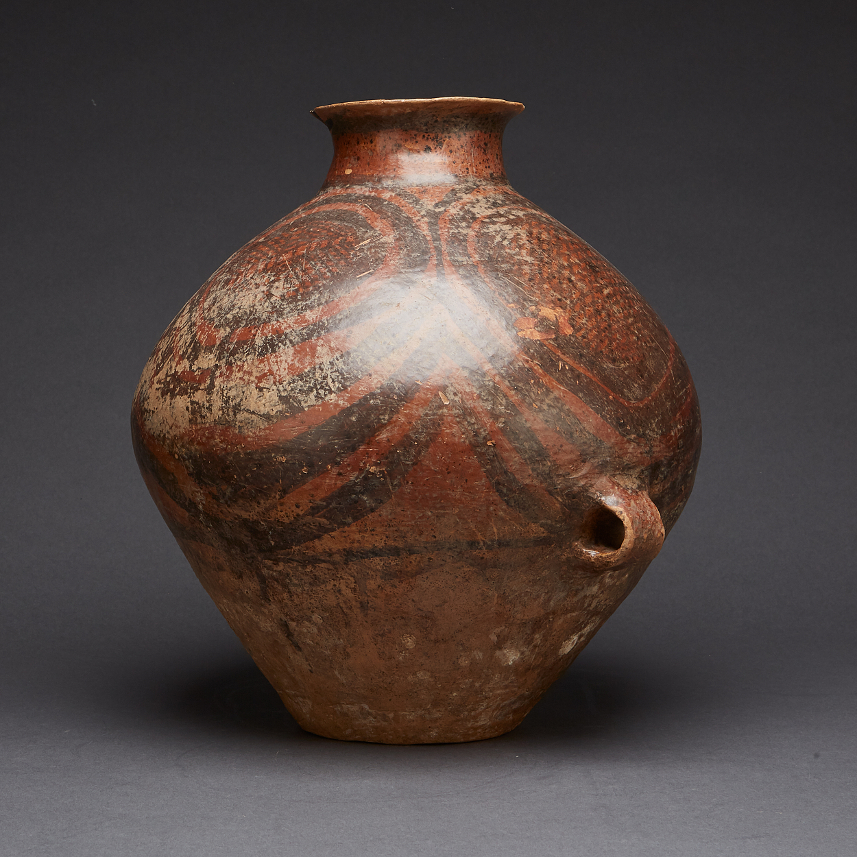 A Neolithic Painted Pottery Jar