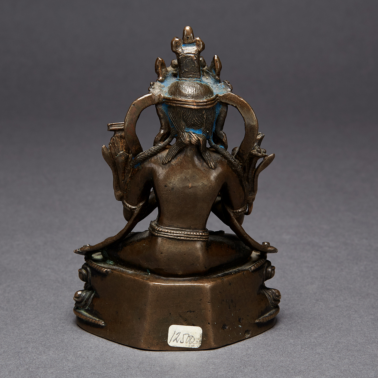 A Tibetan Bronze Figure of Manjushri