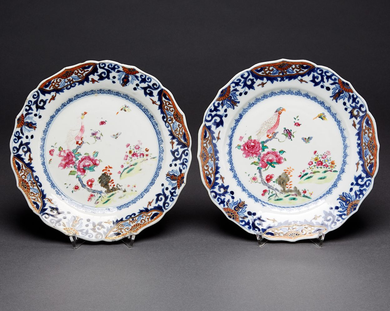 A Small Dish and A Pair of Plates