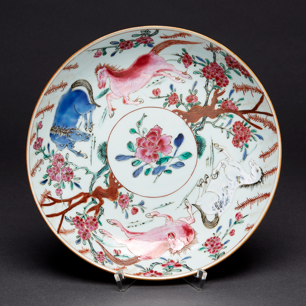 A Famille Rose Saucer-Dish