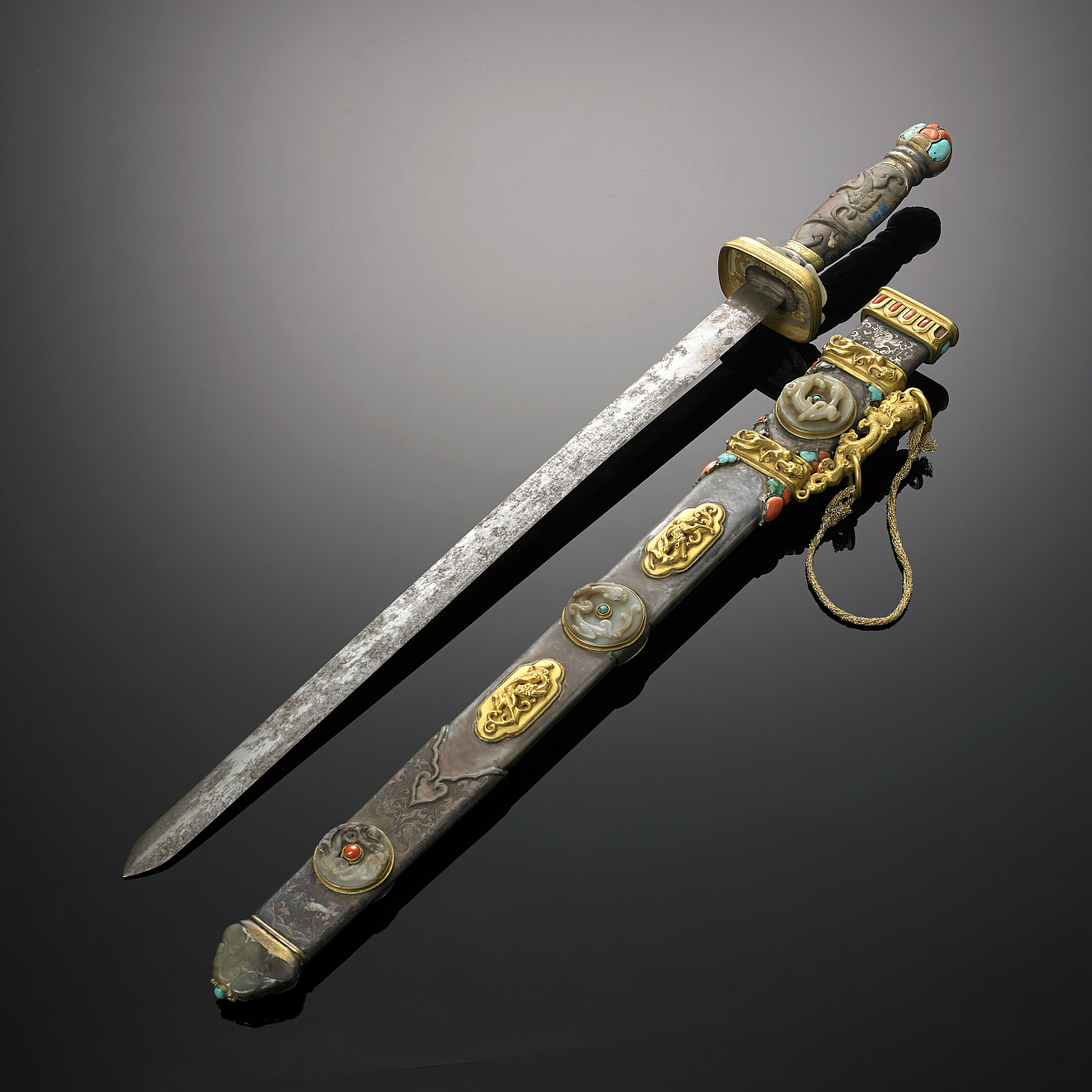 A Tibetan Ceremonial Sword