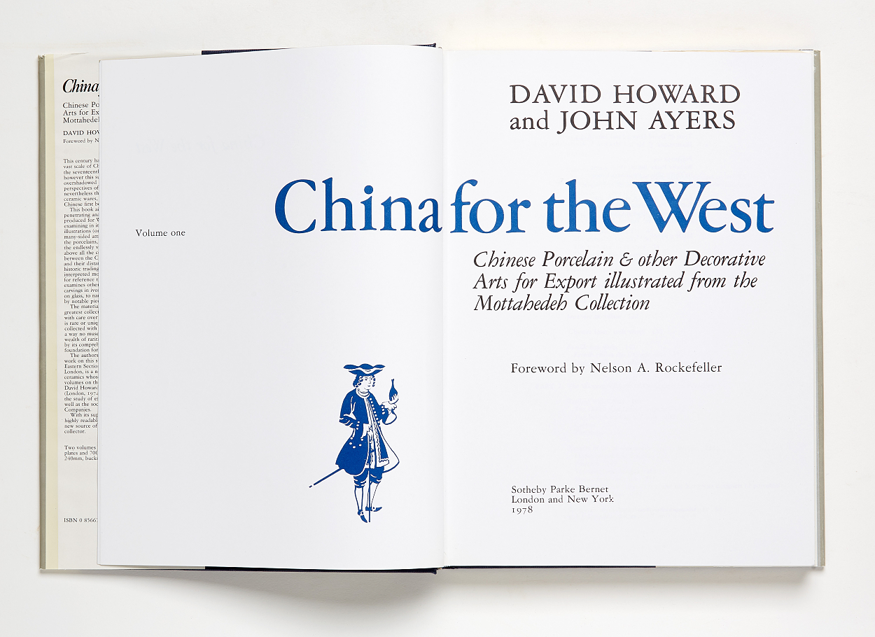 China for the West Vol I-II, D Howard and J Ayers